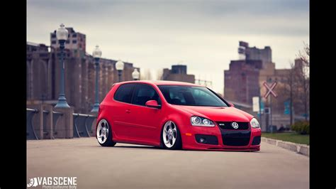 Kevin's Red MK5 GTI on Alphards by VAGScene