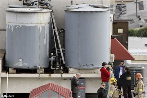 Death of 21-year-old tourist in LA hotel water tank was
