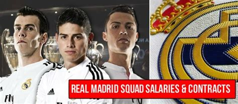 Real Madrid Player Salaries 2015-16 (Contracts Leaked)