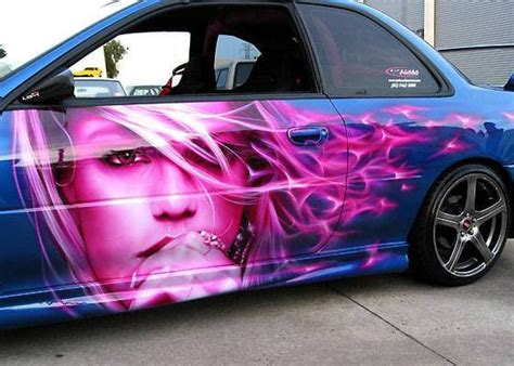 Airbrush 8 - 25 Crazy Airbrushed Art Cars | Complex