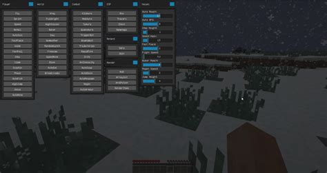 Kronos Hacked Client for Minecraft 1