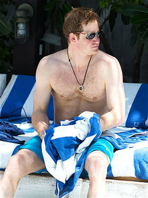 Prince Harry Goes Shirtless in Miami and Visits Graceland