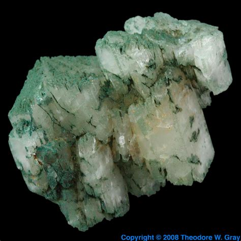 Orthoclase, a sample of the element Potassium in the