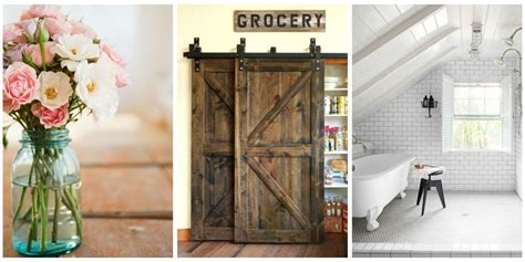 Home Design Trends We Love - Classic Country Decorating Ideas