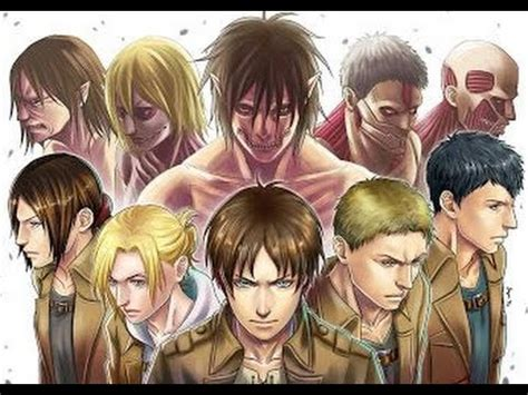 Top 7 Strongest Titans & Who They Are - Shingeki No Kyojin