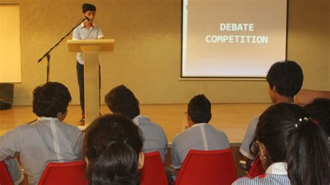 Inter-Class Debate Competition for Pupils of Grade 8A and