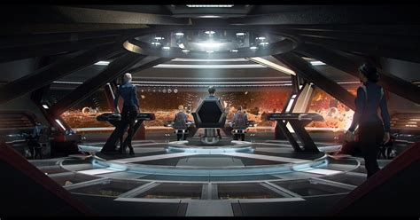 The Trek Collective: Discovery behind the scenes: USS Shenzhou