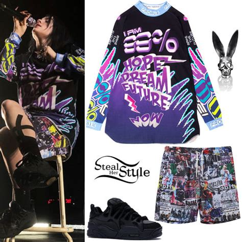 Billie Eilish Clothes & Outfits   Steal Her Style