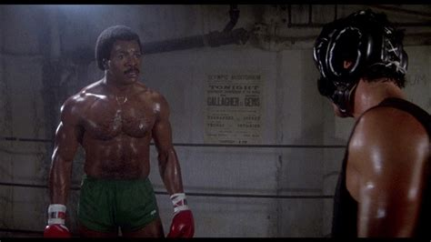 """Listen to Apollo Creed when he Says, """"There is no Tomorrow"""""""