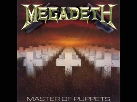 Master Of Puppets - Megadeth (cover) - YouTube