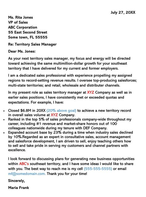 Sales Cover Letter Examples & Samples (with Writing Tips)