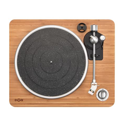 Stir It Up Turntable Record Player Built in Amp USB