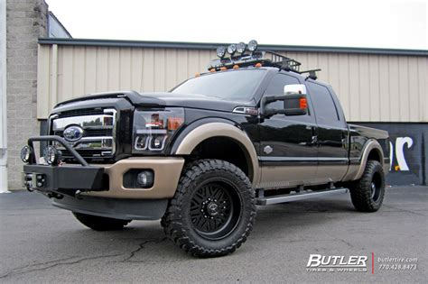 Ford F250 with 20in American Force Titan SS Wheels