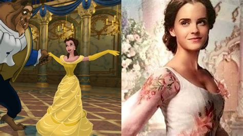 Beauty and the Beast First Look: Emma Watson Is a Vision