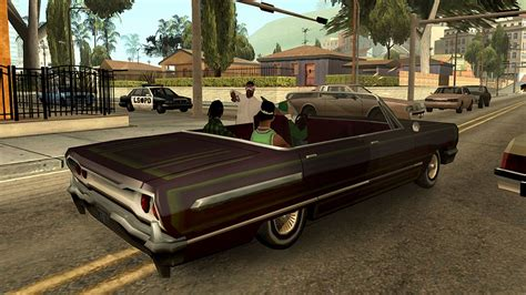 Grand Theft Auto: San Andreas makes a surprise debut on