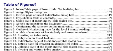 Other types of indexes - Apache OpenOffice Wiki