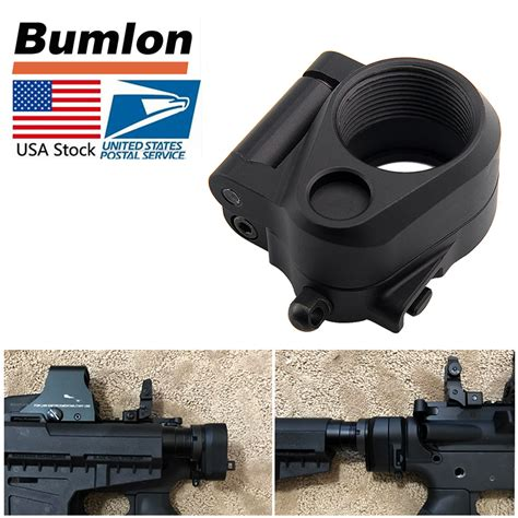Tactical AR Folding Stock Adapter Airsoft Hunting
