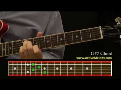 How To Play a G#7 (Sharp) Chord On The Guitar - YouTube