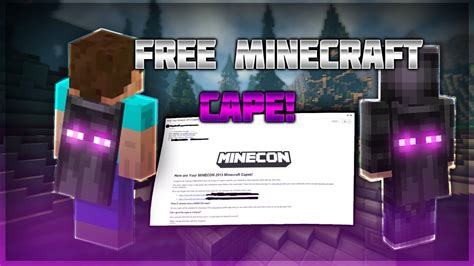 How to Get a FREE Minecraft Cape! [TUTORIAL] | (Minecon