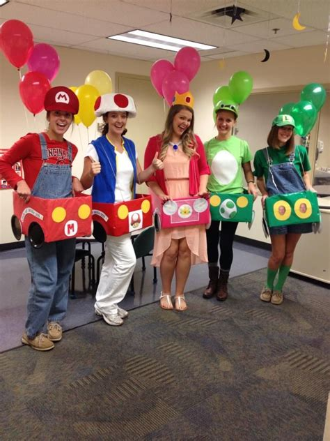 Mario Kart Costume, perfectly done by graduate school
