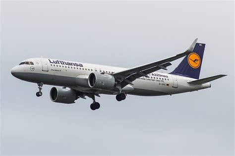 Lufthansa Fleet Airbus A320neo Details and Pictures