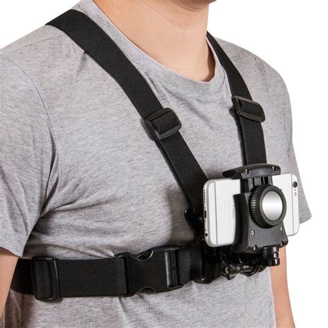 Chest Harness Strap Mount for Sony action cam gopro sport