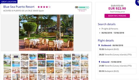 ALL INCLUSIVE: From Budapest to Canary Islands for €461 in