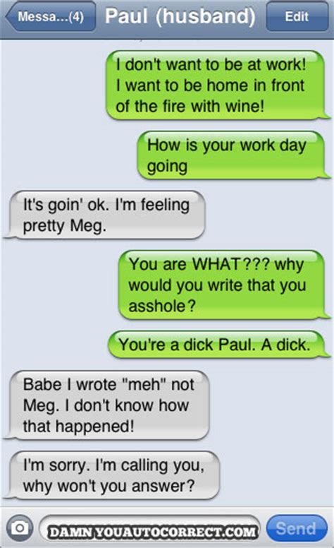 Top 20 Funniest Autocorrect Love / Relationship Text Fails